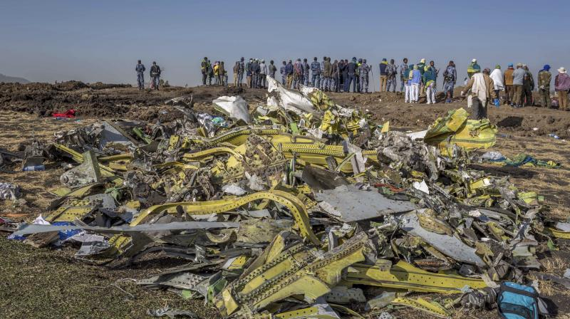 All on board the Boeing 737 MAX 8 died. (Photo:AFP)