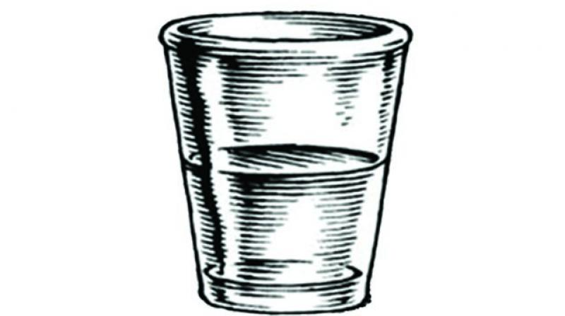In short, your brain activity at rest tells a lot about how you see the half-glass!