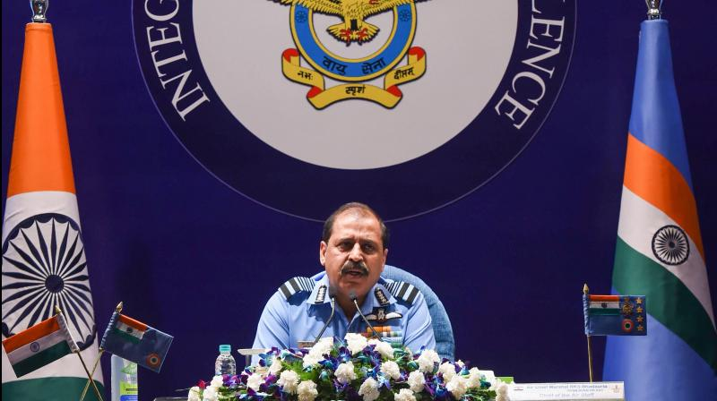 IAF chief Air Chief Marshal RKS Bhadauria