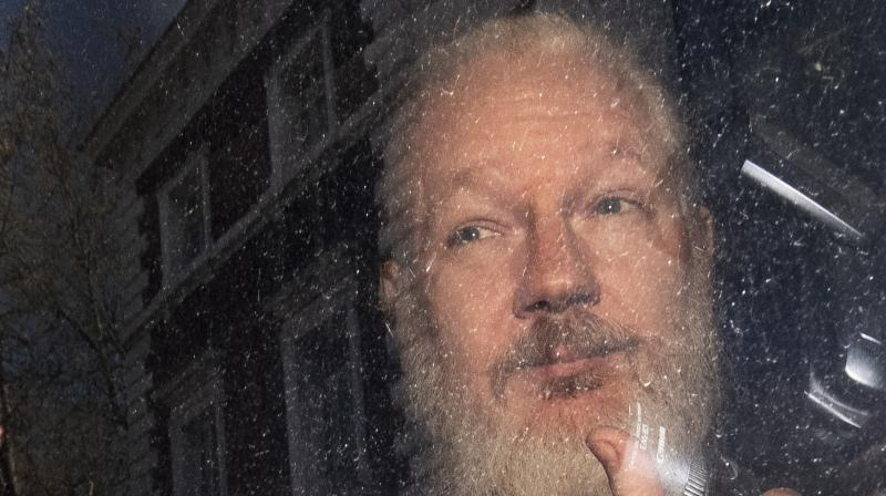 The US Justice Department said Assange was being charged with a computer hacking conspiracy. (Photo:AP)
