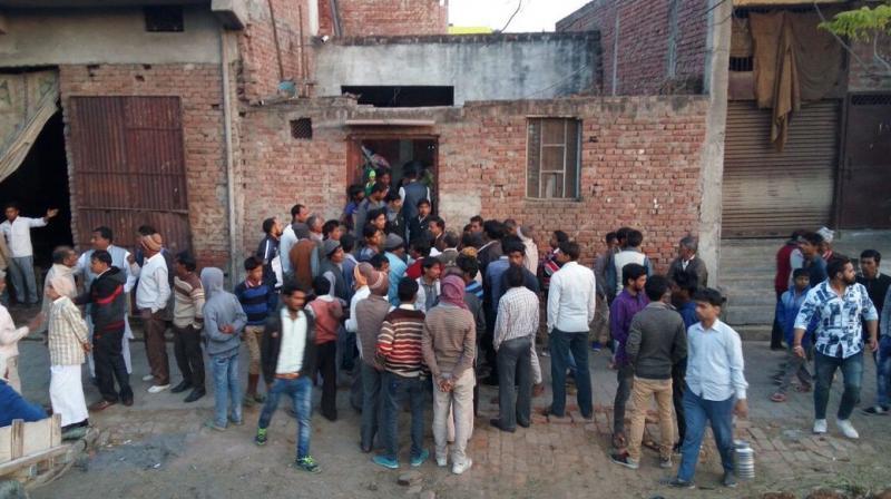The public killing sent shock waves across the woman's village in Uttar Pradesh's Modinagar.