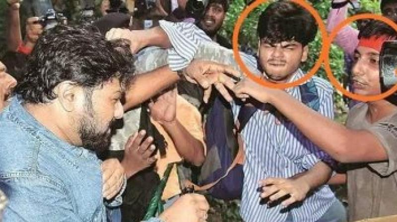 Recently a video of Ballav's mother making a fervent plea to the central minister to not destroy her son's career went viral on the internet. Even Babul Supriyo himself tweeted it and asked the mother to not worry as he would not act against her son. (Photo: Twitter | SuPriyoBabul)