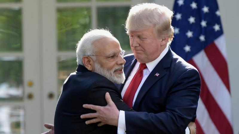 US President Donald Trump and Prime Minister Narendra Modi both will receive rakhis from (Photo: AP)