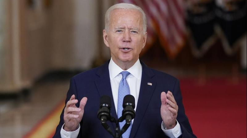 This is President Biden's first significant strategic move and one that will have profound effects on global geopolitics. (AP Photo)