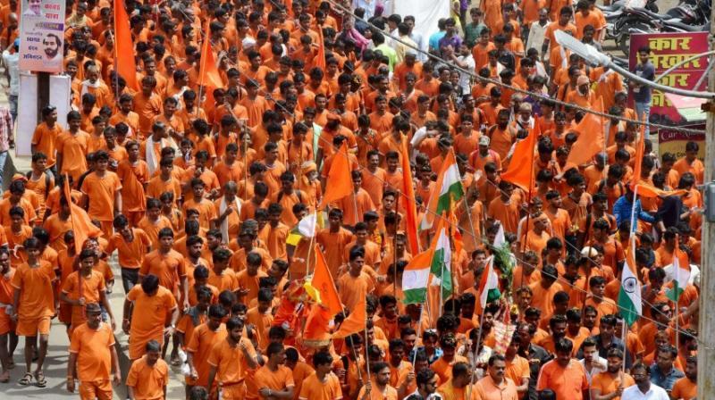 Three days ago, Hindu organisations in Sikar had organised bandh against alleged attack on Kanwarias.