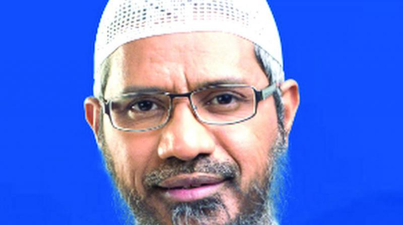 Naik, who is wanted in India, was granted permanent residency in Malaysia by the previous government. (Photo: File)
