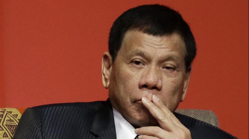 Philippines President Rodrigo Duterte. (Photo: AP)