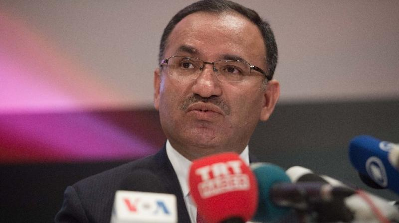 Turkish Justice Minister Bekir Bozdag. (Photo: AFP)