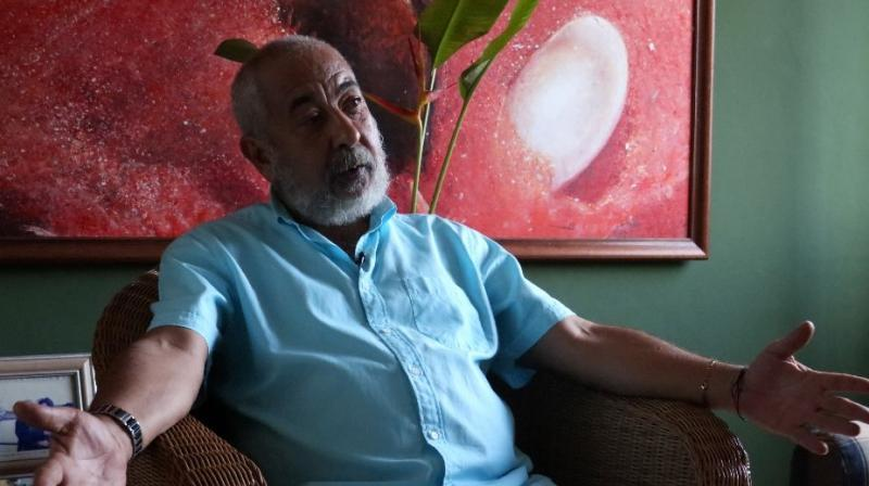 But Padura is perhaps best known for the series of novels starring his hard-drinking, heavy-smoking Havana detective. (Photo: AFP)