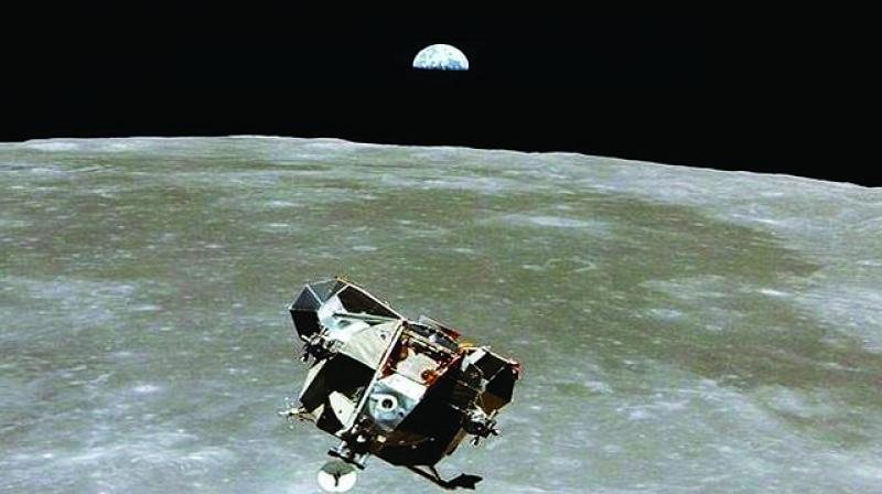 Plagued by problems in power supply units controlling both onboard computers, it forced Indian space scientists to move it away from the lunar surface in order to avoid excess heat and radiation.