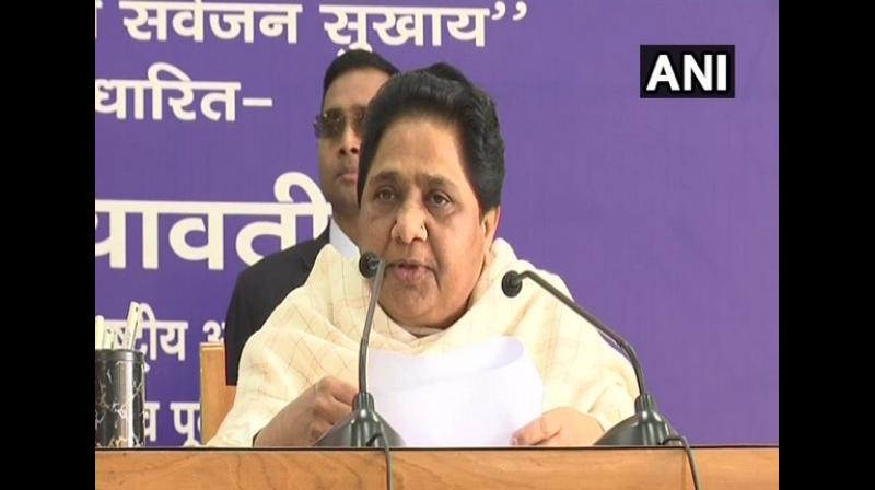 BSP president Mayawati on Monday asked why the Election Commission was not cancelling the nomination of Pragya Singh Thakur, the Bharatiya Janata Party candidate from Bhopal. (Photo: File)