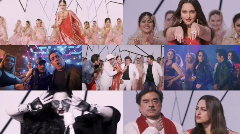 Stills from Yamla Pagla Deewana Phir Se song Rafta Rafta.