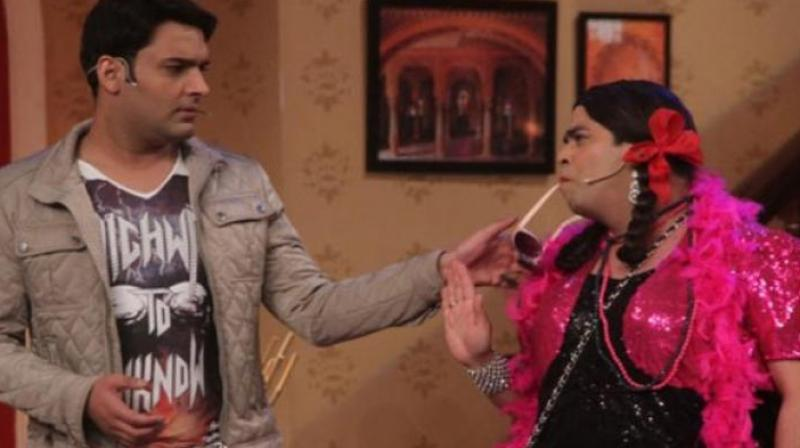 Kapil Sharma and Kiku Sharda have been together on the former's earlier show and the new one as well.