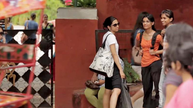 A still from The Daughters of Mother India