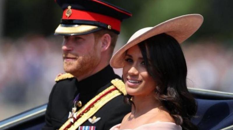 Prince Harry and Meghan Markle. (Photo: AFP)