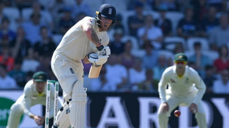 The batting hero of England's World Cup final triumph, hit the winning runs by flaying paceman Pat Cummins for a four. (Photo: AFP)