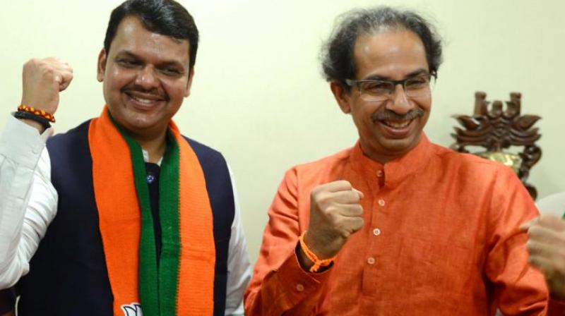 The Shiv Sena on Saturday needled its warring ally BJP which has failed to stake claim to form a government in Maharashtra, apparently due to lack of numbers, even a fortnight after the assembly poll verdict. (Photo: File)