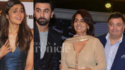 It seems Ranbir Kapoor's parents Rishi and Neetu Kapoor are fond of Alia Bhatt and vice versa.