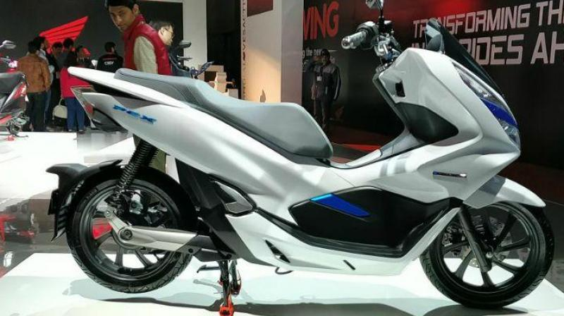 Honda plans to launch the PCX in Asian markets this year.
