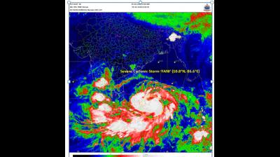 Cyclone 'Fani' now 'extremely severe storm', Odisha on alert