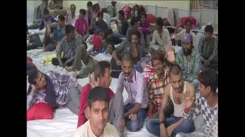 Pakistan on Tuesday released 60 jailed Indians at the Wagah border as a goodwill gesture. (Photo: ANI)