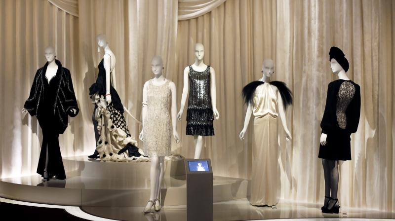 ae772665bd9 The museum has a rotating exhibitions of Mr. Saint Laurent's couture,  including such memorable. Pictures of French fashion designer Yves ...