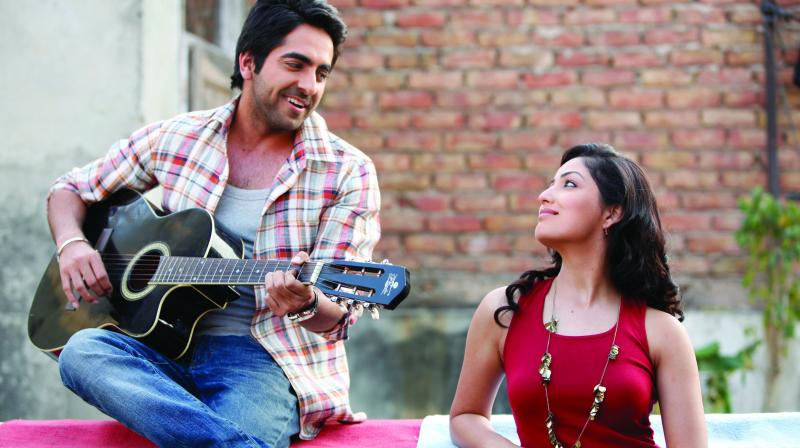 A still from Vicky Donor