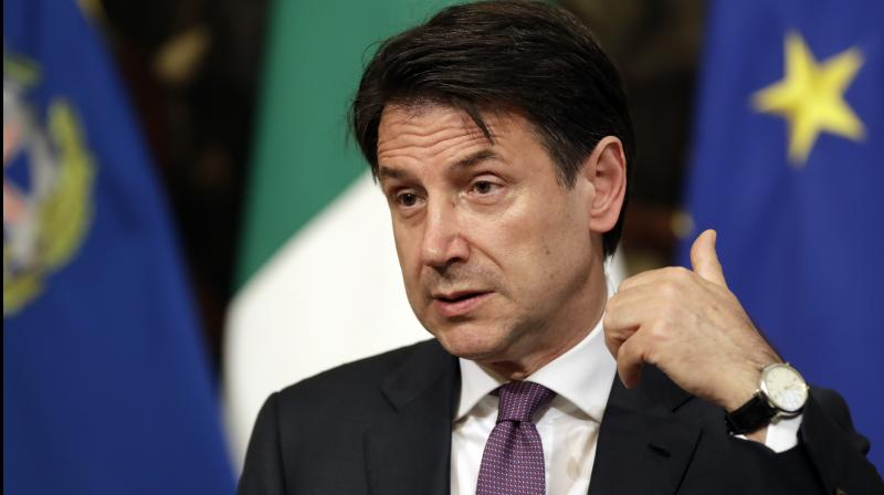 'I want a clear, unequivocal and speedy response,' Giuseppe Conte said, calling for a 'loyal collaboration' from all ministers. (Photo: AP)