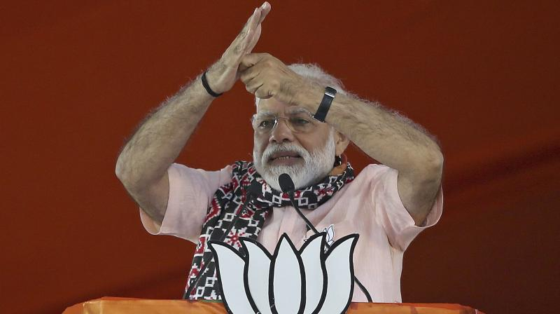 Modi promised Indians that 'acche din' (good days) were coming. (Photo:AP)