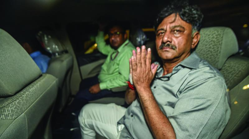 Senior Congress leader and former Karnataka minister D.K. Shivakumar (Photo: File)