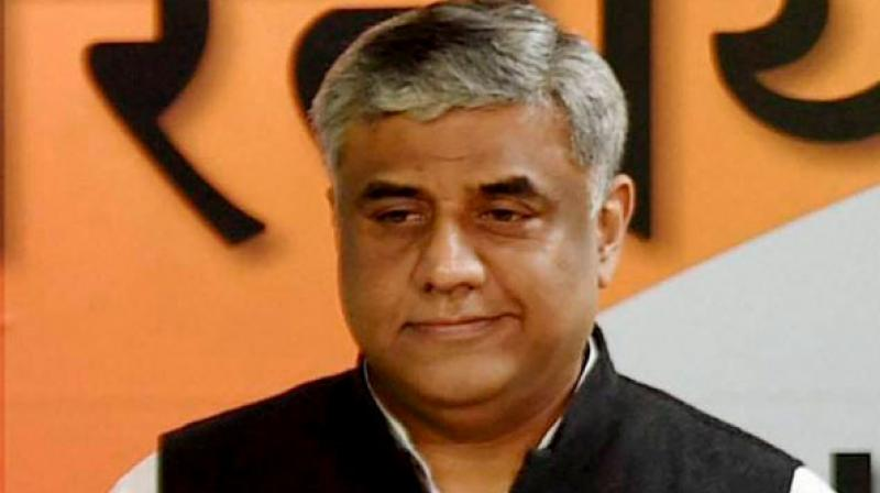 Congress leader Rajeev Gowda said the saffron party was propagating a fake toolkit on Covid-19 mismanagement and attributing it to the AICC research department. (PTI file photo)