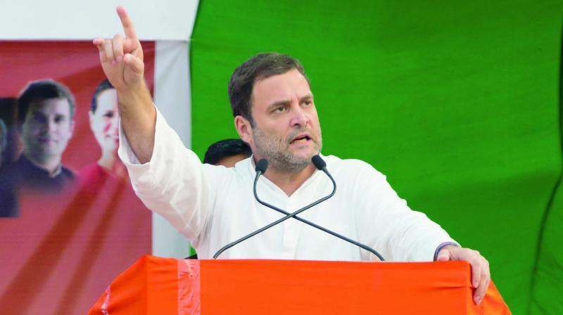 Congress President Rahul Gandhi (Photo: AP)