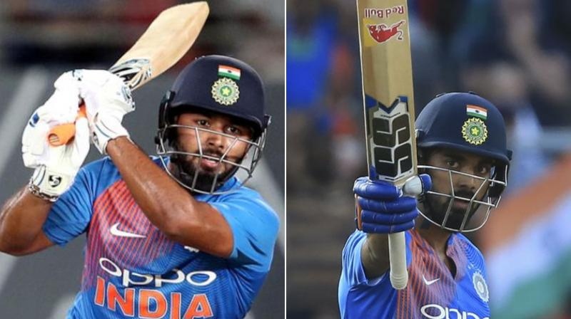 The likes of KL Rahul and Rishabh Pant will be aiming to cement their places in the squad as India continue auditions for next year's T20 World Cup when they take on the West Indies in a three-match T20 series, starting here on Friday. (Photo:AFP)