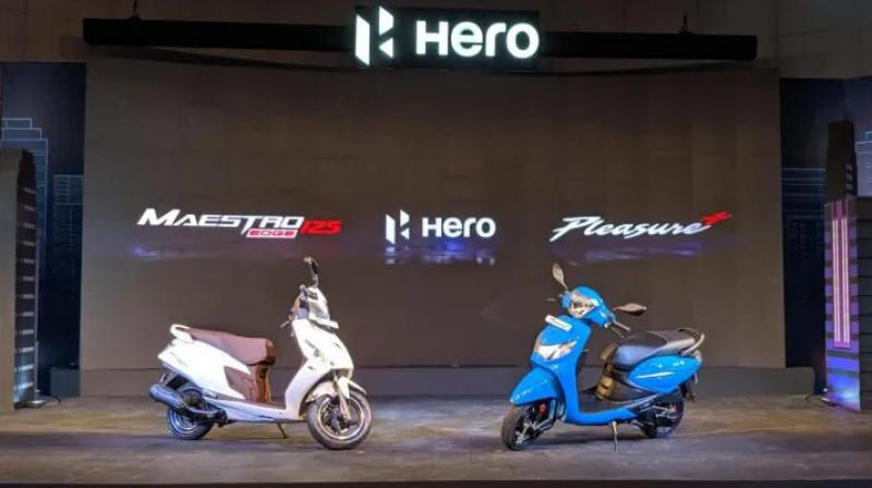 The Maestro Edge 125 becomes India's first FI scooter, while the 2019 Pleasure Plus gets redesigned bodywork, revised graphics and more!