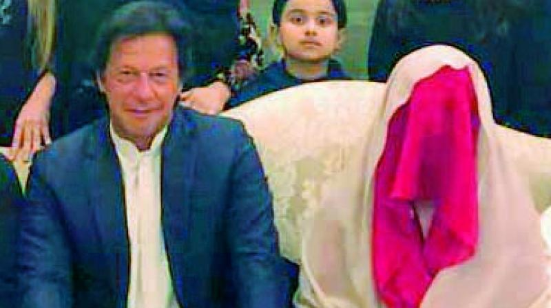 Imran Khan and Bushra Maneka