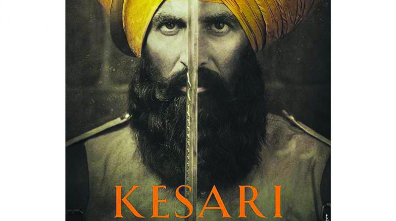 The main protagonist Havildar Ishar Singh in real life would have had a khaki turban and had his beard properly tied, thus not looked like an angry villager just roused from sleep, or a Taliban fighter in saffron.