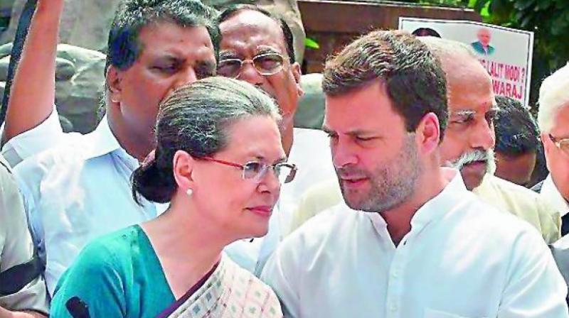 The Congress Party is attacked as being pro-Muslim although its leaders Sonia Gandhi and son Rahul, ostentatiously visit Hindu temples.