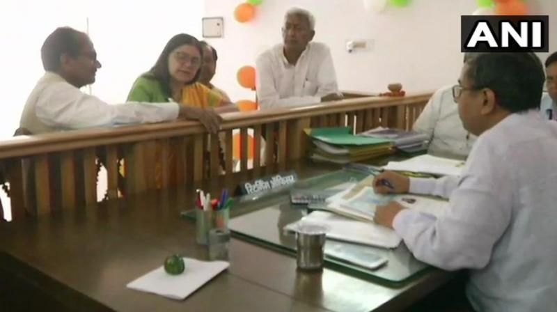 Maneka Gandhi had previously been elected on a BJP ticket from Pilibhit constituency in Uttar Pradesh. (Image: ANI)