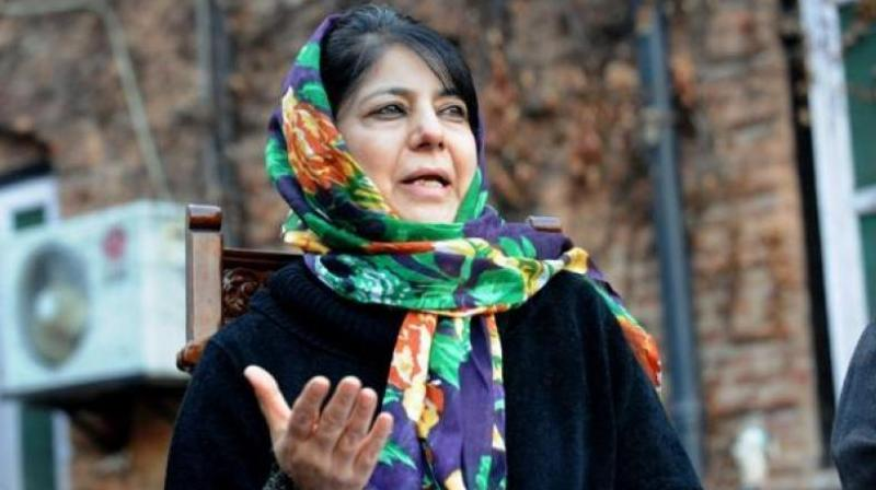 Jammu and Kashmir Chief Minister Mehbooba Mufti. (Photo: File/PTI)