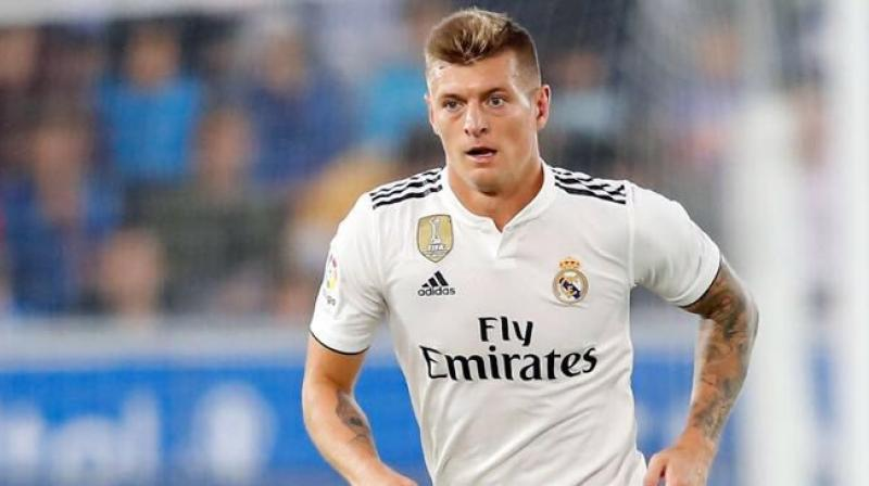 Kroos has scored 13 goals in 233 appearances for Real since arriving from Bayern Munich in 2014 after helping Germany win the World Cup in Brazil. (Photo: Toni Kroos/Twitter)