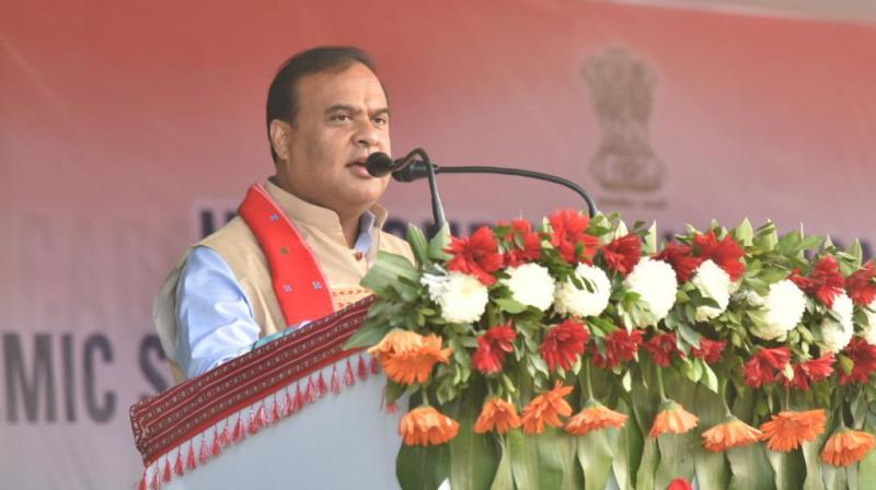 Assam Finance Minister Himanta Biswa Sarma (Image source: Twitter@himantabiswa)