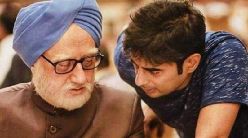 Vijay Gutte's directorial debut, 'The Accidental Prime Minister', is slated to release on December 21. (Photo: Instagram | Anupam Kher)