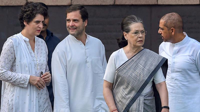 The Congress now has governments in Punjab, Madhya Pradesh, Rajasthan, Chhattisgarh and Puducherry. (Photo: PTI)