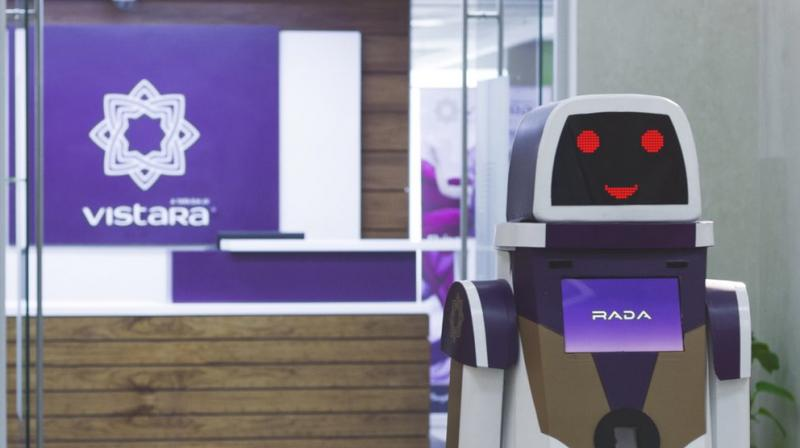 Come July and passengers of full service carrier Vistara will be assisted by a robot at its lounge in IGI airport.