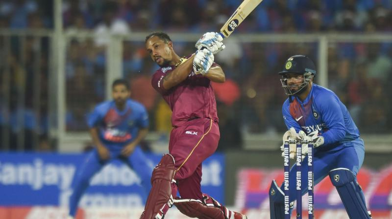 Rohit Sharma has seen a capable leader in Kieron Pollard from close quarters and believes that his longtime Mumbai Indians teammate has been responsible for a transformed West Indies side in white ball format. (Photo:PTI)