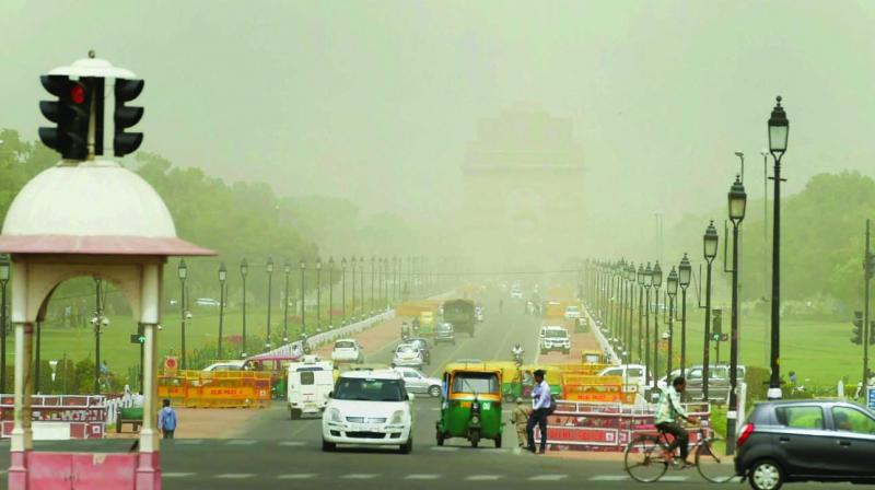 The authorities predicted further fall in the air quality index of the national capital in the coming days.  (Photo: PTI)