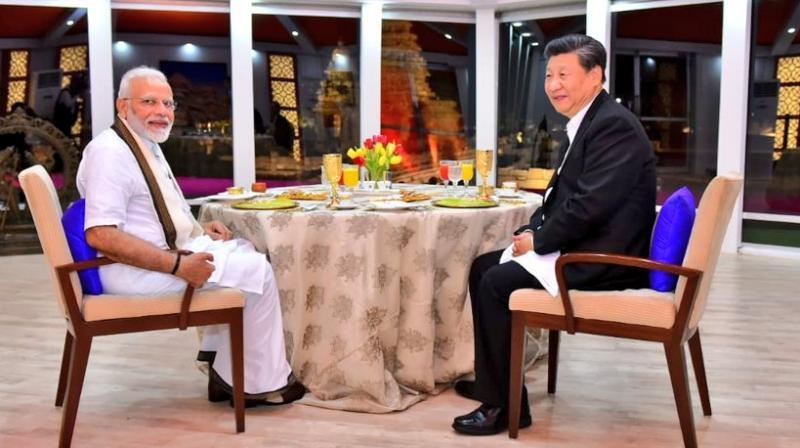 In a tweet following the dinner, Modi said he was delighted to spend time with Xi.  (Photo: Twitter)