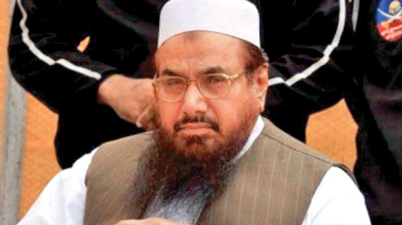 India also blamed JuD leader Saeed for the Mumbai attacks of November 2006, but Pakistan argues that New Delhi has failed to provide incriminating evidence against him. (Photo: File)