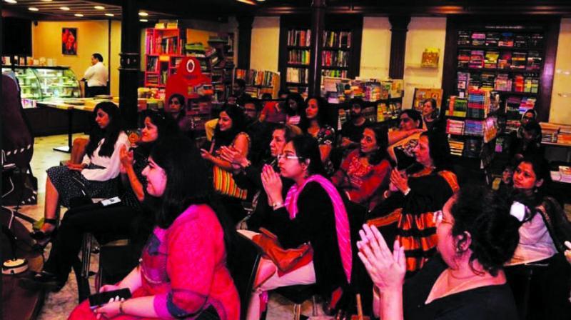 A scene from last year's event at Kitab Khana