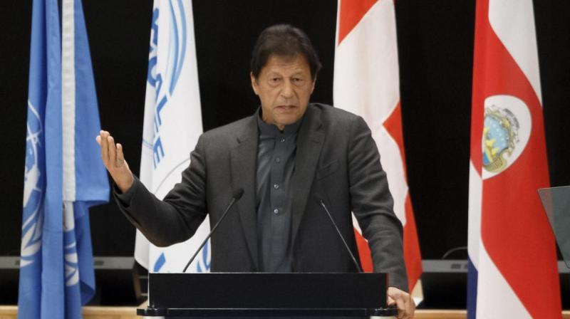 Pakistan Prime Minister Imran Khan. (AP File)